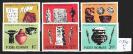 Roumanie 2970 à 2975 ** Côte 4 € - 1948-.... Republics