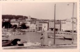 CASSIS - CARTE PHOTO DU 26-9-1936. - Cassis