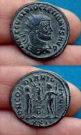 Antoninien De Diocletian,man Bronze Antoninianus - 6. The Tetrarchy (284 AD To 307 AD)