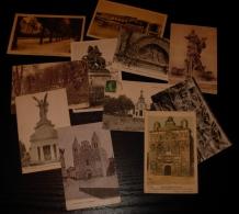 Lot De 11 CPA CPSM Petit Format  Du Département De Charente, ANGOULEME Et COGNAC - Cartes Postales