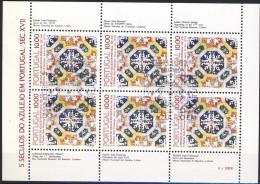 ##Portugal 1982. Azulejos. Sheetlet. Michel 1557. Cancelled(o) - Blocs-feuillets