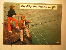 Pas D'age Pour Tremper Son Fil ! - Humour
