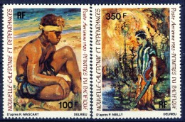 ##New Caledonia 1983. Paintings. Michel 726-27. MH(*) Hinged. - Nuevos