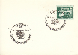 CYCLISME-RADSPORT-CICLISM O-CYCLING, Special Postmark 1974, German Democratic Rep./Leipzig - Ciclismo