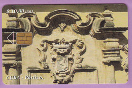 Cuba  °  Sculpture  à  Portico  T B E - Cuba
