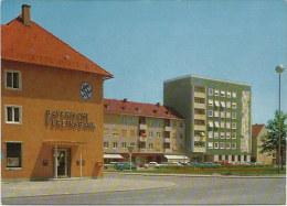 Postkarte Kaufbeuren Neugablonz Neuer Markt Vereinsbank Color ~1960 #2144 - Kaufbeuren