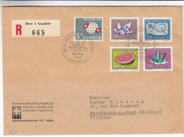 Pierres Précieuses - Suisse - Lettre Recommandée De 1959 ° - Valeur 25 Euros - Svizzera