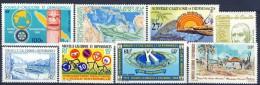 ##B495. New Caledonia 1980. 8 Items. MH(*) Hinged. - Nuevos