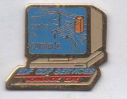 EDF GDF , Services  Normandie Eure - EDF GDF