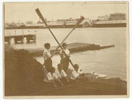 **QUEENSLAND CREW (nr.2)   ** . PORT ADELAIDE - AUSTRALIE( Brisbane )-Race-1924 - Aviron