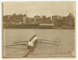 **QUEENSLAND CREW (nr.4)   ** . PORT ADELAIDE - AUSTRALIE( Brisbane )-Race-1924 - Aviron