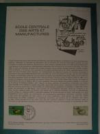 FDC, École Centrale Des Arts & Manufactures - Paris - 17.11.1979 - 1er Jour, Collection Historique - FDC