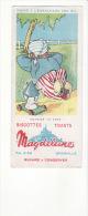 "Buvard Biscottes ,toats Magdeleine : ""meunier Tu Dors "" Signé Jeb (contes ,fable,chanson) - Biscotti"
