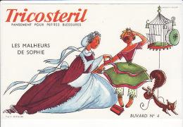 Buvard Tricostéril : Pansement Pour Petites Blessures  :Les Malheurs De Sophie - Blotters