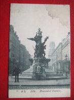 59 - LILLE - MONUMENT TESTELIN - - Lille