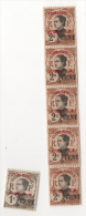 Fra488 Yunnanfou Colonie Indocine Indocina Annamite Soprastampa Rossa N.51, 1cent 2/5, 2 Cents X 6 4/5, Unused Nuovo - Unused Stamps