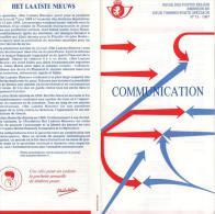 BELGIQUE 2271/2 Encart Premier Jour : Journaux  Le Soir Et Het Laatste Neuws (HERGE Tintin) - Comics