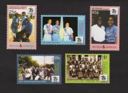 ant0611co Antigua Barbuda 2006 75th Anniversary of Girl Guiding 5v