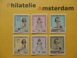 Luxembourg 1960, CARITAS / PRINSES MARIE-ASTRID: Mi 631-36, ** - Unused Stamps