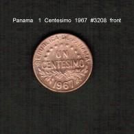 PANAMA    1  CENTESIMO  1967  (KM # 22) - Panama