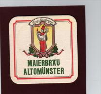 Sous  Bock De Bière Allemande - Maierbräu  Altomünster De Landler Weisse - 2 Scannes - Sotto-boccale