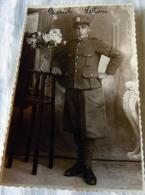 FOTO MILITARE --  WW I GUERRA NOMINALE - Guerre, Militaire