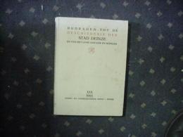 Bijdragen Tot De Geschiedenis Der Stad Deinze En Van Het Land Aan Leie En Schelde,nr 30 - 1963 - Historia