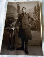 FOTO MILITARE --  WW I PRIMA GUERRA NOMINALE - Guerra, Militari