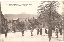 Dépt 63 - CLERMONT-FERRAND - Boulevard Desaix Et Vue Sur Le Puy-de-Dôme - Clermont Ferrand