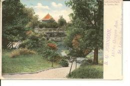 ST. LOUIS  MO.   U.S.A.      LAFAYETTE   PARK   ( ECRITE EN 1907  ) - St Louis – Missouri