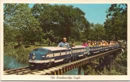 The Brackenridge Eagle - San Antonio, Texas - World's Longest Miniature Railroad - Strassenbahnen