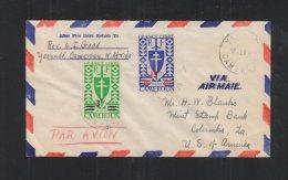 France Libre Cameroun Lettre Pour USA - Kamerun (1915-1959)