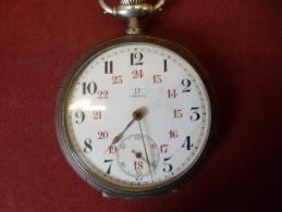Oméga Gousset  Années +/- 1900  Fonctionne Parfaitement - Relojes De Bolsillo