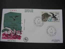 TAAF.  Fauna/Vogels/birds/Petrel De Wilson FDC/ETB (FDC851-854) - FDC
