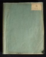 Pré Cinéma GEORGES MELIES LES 400 COUPS DU DIABLE De COTTENS DARLAY 1905 Scénario Original Magie Prestidigitation - Manuskripte