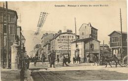 38/ Grenoble - Passage à Niveau Du Cours Berriat - - Grenoble