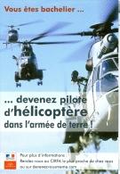 Frankreich AK Hubschrauber Armee - Ausrüstung