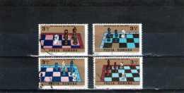 1984 - Balckaniade D Echecs A Baile Herculane Mi No 4019/4022 - Used Stamps