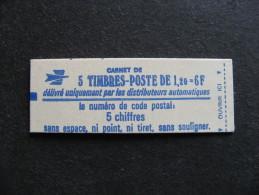 TB Carnet N° 1974-C1 , Neuf XX. - Carnets