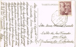 5780. Postal SANTA CRISTINA D'ARO (Gerona) 1946. Ambulante San Feliu Guixols - 1931-Today: 2nd Rep - ... Juan Carlos I