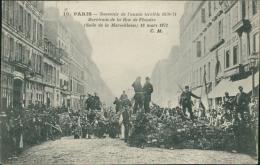 75 PARIS 19 / Souvenir De L'année 1870-71, Barricade De La Rue De Flandre / - Distretto: 19