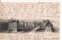 VILLERS SUR MER 13 ARRIVEE . ROUTE DE TROUVILLE  1904 - Villers Sur Mer