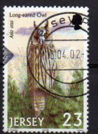 JERSEY 2001 Birds Of Prey 23p Used - Jersey