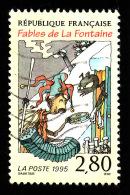 FRANCE  1995  -  Y&T  2958  -  Fables Cigale Et La Fourmi    - Oblitéré - Cote 0.80e - Gebraucht