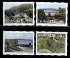 TRANSKEI, 1986,  MNH Stamp(s), Hydro-electric Power,  Nr(s) 189-192 - Transkei