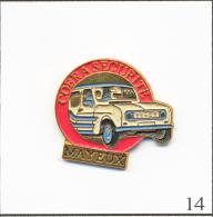 Pin´s - Rallye R 4L / Team Mayeux De L'Asso. Cobra Sécurité Blaringhem (59). Non Est. Métal Peint. T094-14 - Badges