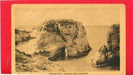 LIBAN BEYROUTH 1925 ROCHE AUX PIGEONS CARTE EN BON ETAT - Líbano