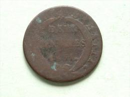 1831 - Deux Centimes / KM A22 ( Voir Photo Pour Détail ) !! - Haiti