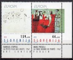 SLOVENIE  N°46/47___NEUF**VOIR SCAN - Europa-CEPT