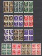 Italia  Repubblica Sociale 16 Quartine / Block Of 4 **/MNH VF/F - 4. 1944-45 Repubblica Sociale